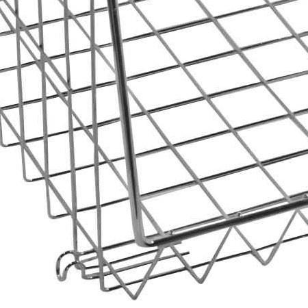 aufraumen korb verchromt gr sse m. Black Bedroom Furniture Sets. Home Design Ideas